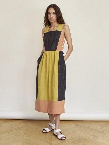 Sideline Jupiter Dress - Colour Block