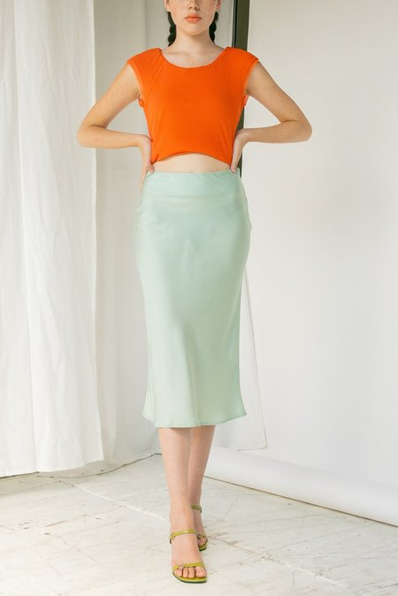 Angie Bauer Lindsey Skirt - Green