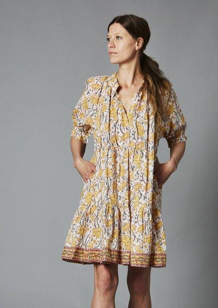 Charlie Joe Graziana Short Dress - Orchid Yellow