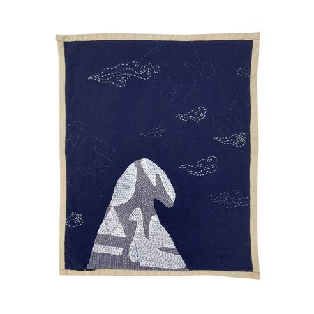 Vanessa Chow Ocean Pacific West Wall Hanging - Midnight Cloud