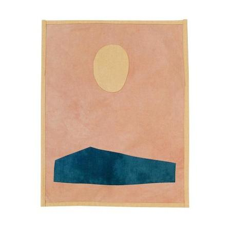 Vanessa Chow Ocean Pacific West Wall Hanging - Peach/Sand