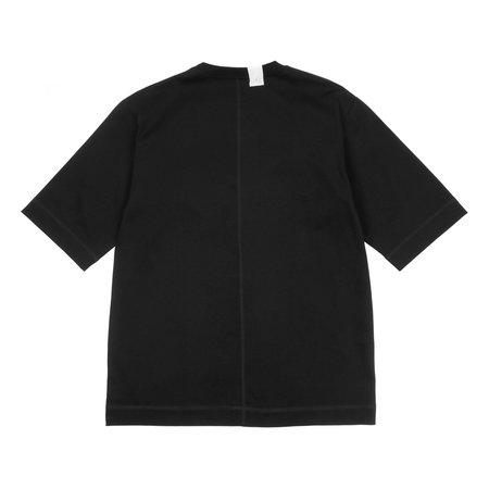 N.hoolywood Crewneck Half Sleeve T-shirt - Black