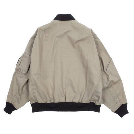 N.hoolywood Flight Jacket - Gray