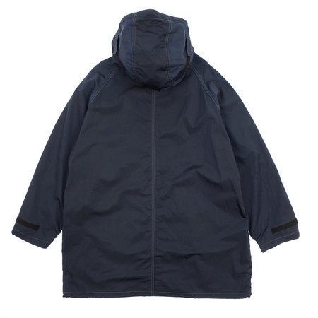 N.hoolywood Hooded Coat - Navy