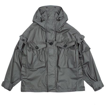 N.hoolywood Pertex Nylon Rip Jacket - Charcoal