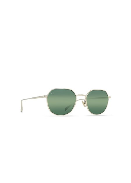 UNISEX Raen Byres Sunglasses - Light Gold/Mirror