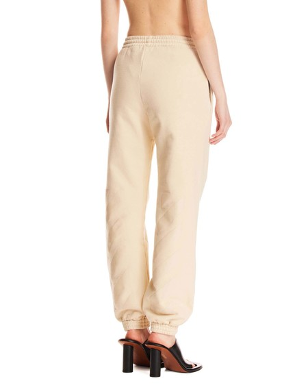 Off-White Striped Track Pants - Beige