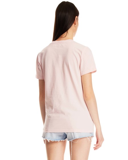 Off-White OFF Print T-Shirt - pink