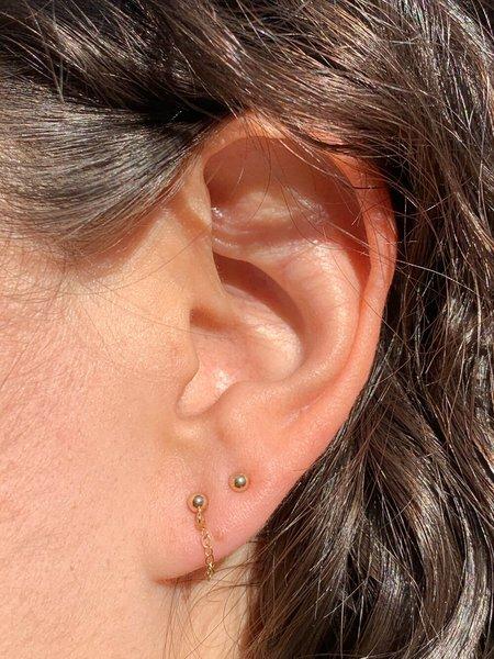 HighLow Swing Earrings - Gold