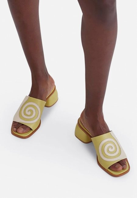 Paloma Wool Tornado Sandals - Light Olive Green