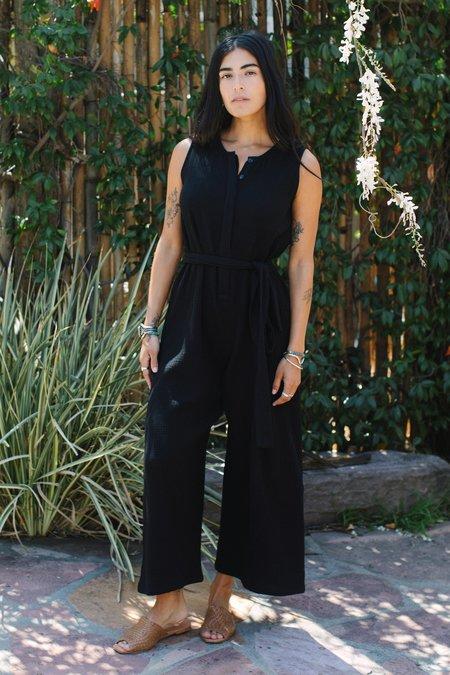 Rachel Pally Gauze Sadie Jumpsuit - Black