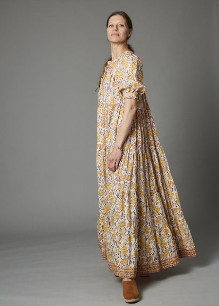 Charlie Joe Graziana Long Dress - Orchid Yellow