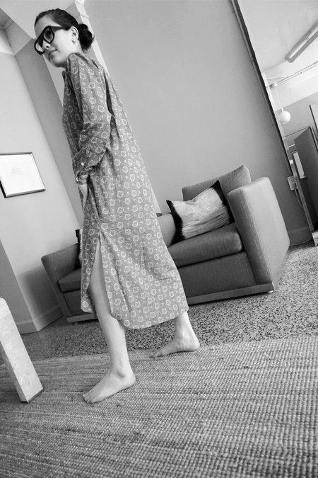MOISMONT LONG TUNIC DRESS - PINK