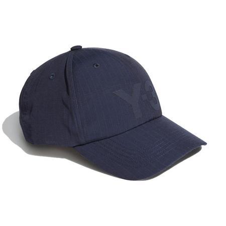 adidas Y-3 Ripstop Logo Cap - Navy