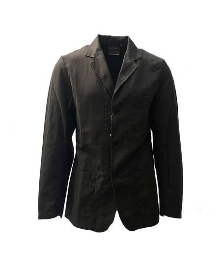 Vetra Herringbone Jacket - Dark Khaki
