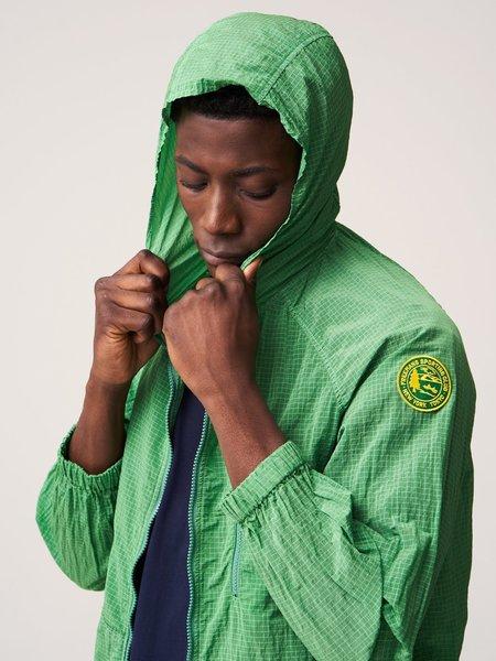 Freemans Sporting Club Hooded Rain Jacket - Green