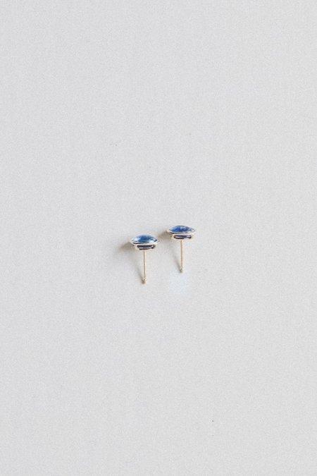 Mary Macgill Kyanite Floating Stud Earrings - 14k Gold