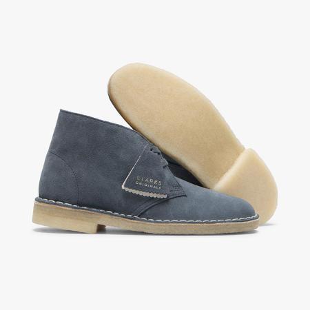 Clarks Desert Boot - Blue Suede