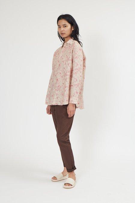 Hope Elma Clean Shirt - Pink Flower