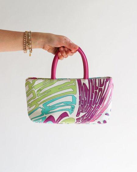 [Pre-loved] Emilio Pucci Mini Printed Tote Bag - Multicolor