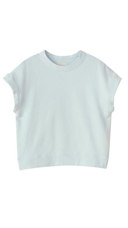Citizens of Humanity Monique Sleeveless Sweatshirt - Sea Glass