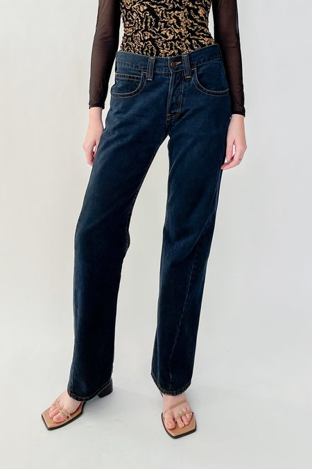Vintage Armani Midnight Relaxed Denim