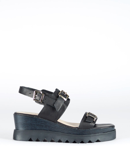 Sol Sana Gabrielle Wedge Black
