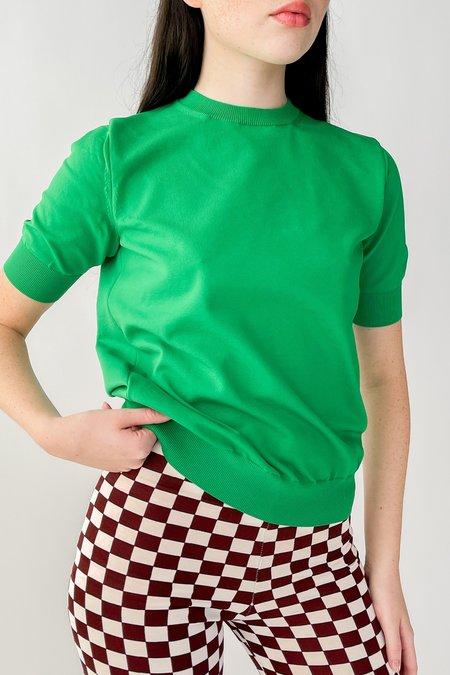 Sloane Knit Shirt - Green