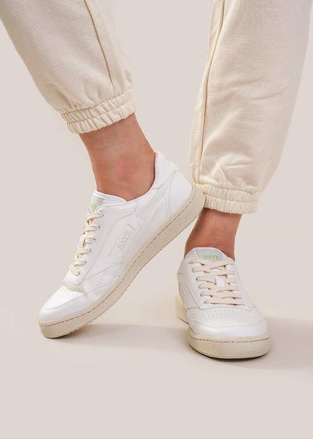 Unisex Saye Vegan Modelo '89 Sneaker - White