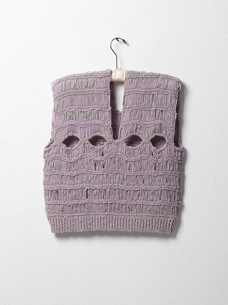Atelier Delphine Knitted Top - Lavender/Cloud