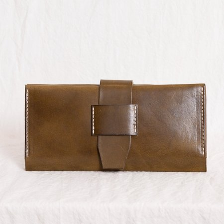 Pennyroyal Long Wallet - Olive