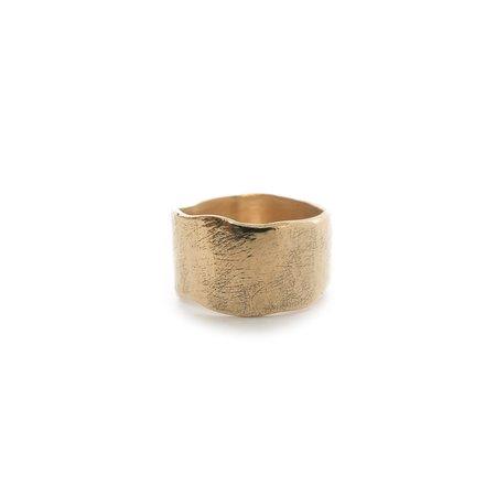 Siri Hansdotter Sigr Water Wide Band Ring