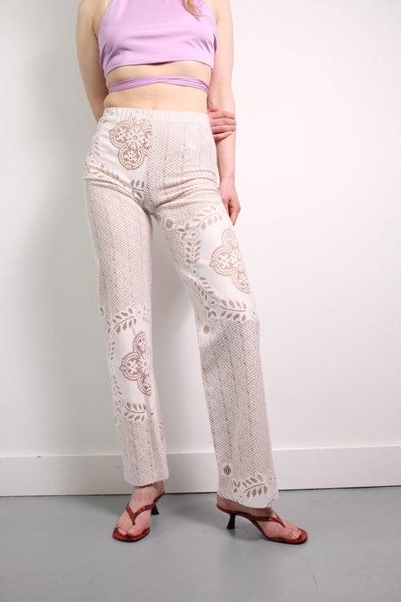 MARYAM NASSIR ZADEH Lace Dance Pants -  Window