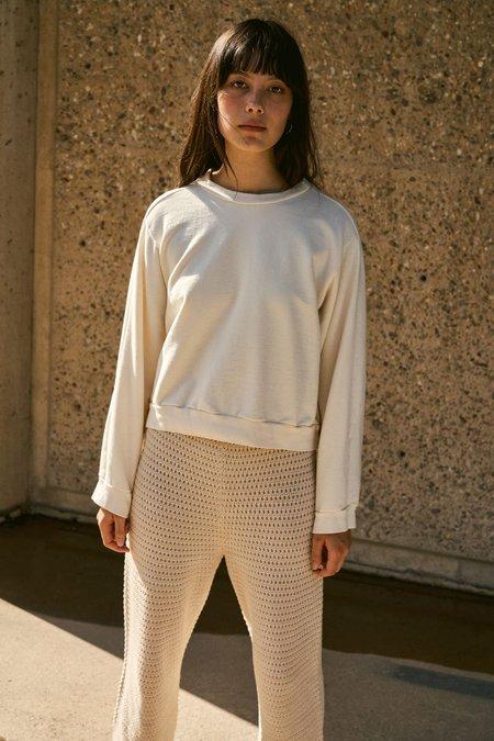 Wol Hide Easy Summer Sweatshirt - Natural