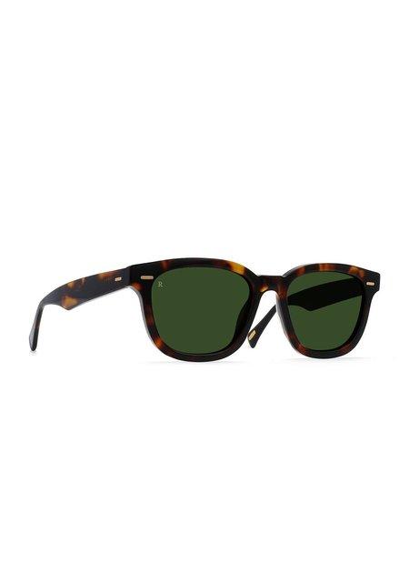 Raen MYLES Sunglasses - Kola Tortoise/Bottle Green