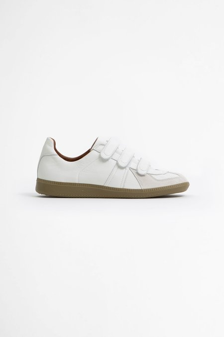 Reproduction of Found German military velcro trainer - white