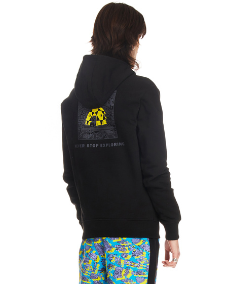 The North Face Logo Hoodie - Black