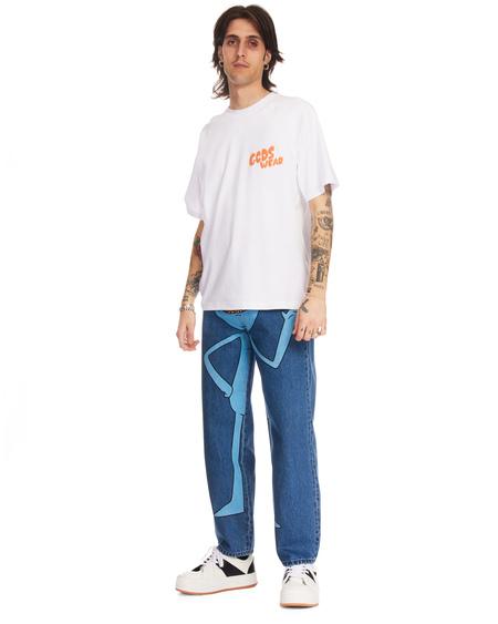 GCDS Rick and Morty Denim Jeans - blue