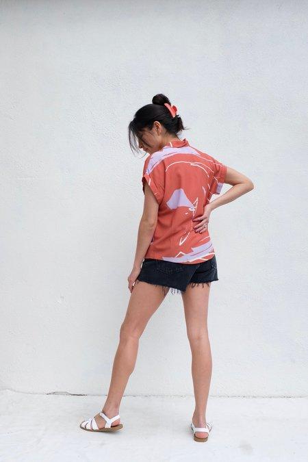 Eve Gravel June Shirt - Ugo Terracotta
