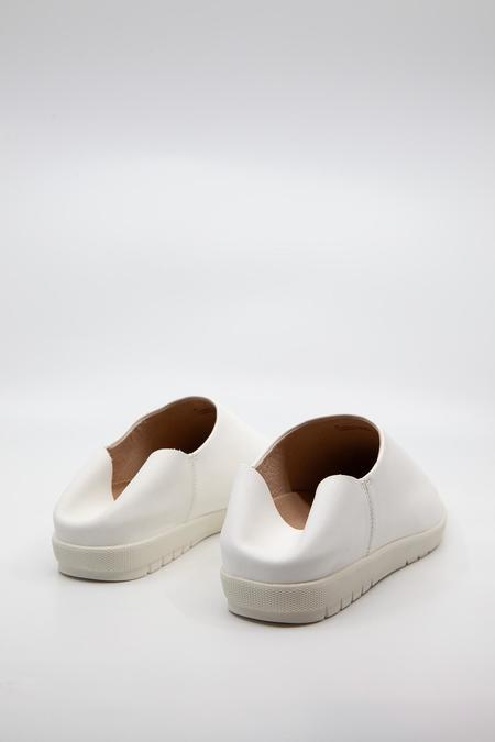 VISION QUEST Babouche shoes - White Chalk