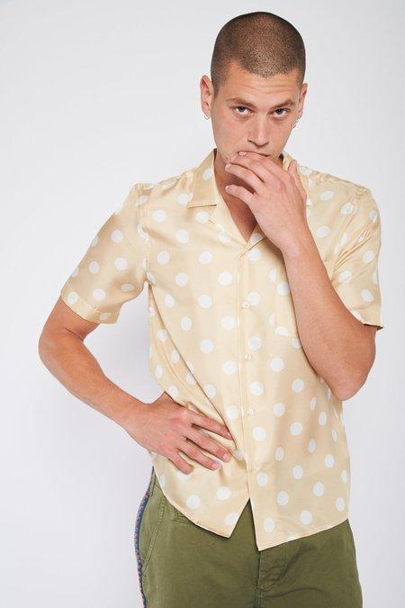 PRESIDENTS Rangi Short Sleeve Dot Silk Shirt