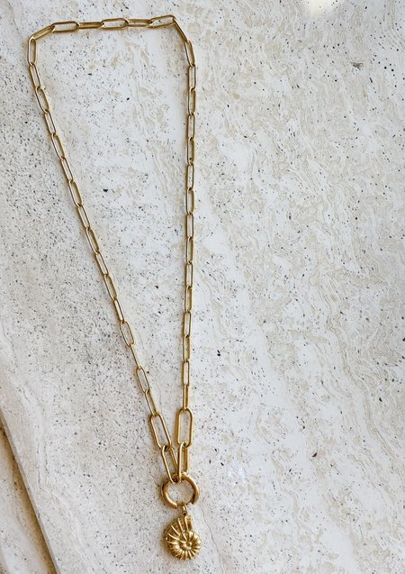 Notte Jewelry Comino Necklace + Single Earring