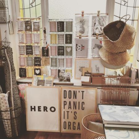 Organic Zoo Hero Print