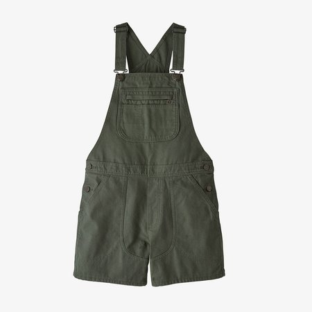 """Patagonia Stand Up®  5"""" Overalls - Kale Green"""