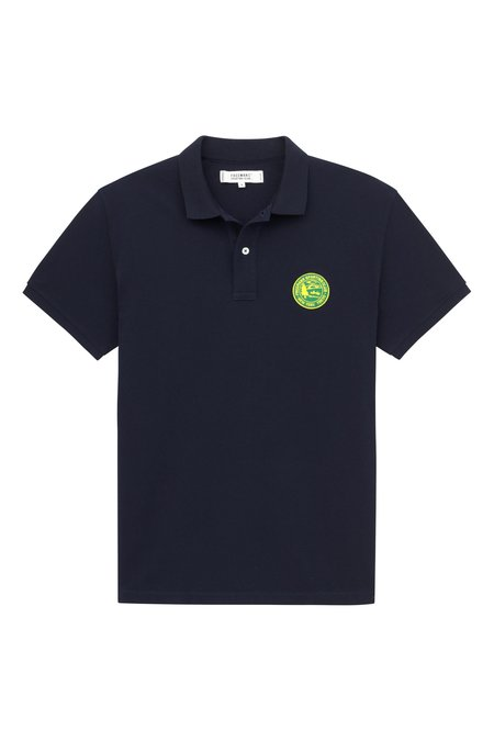 Freemans Sporting Club Knit Polo - Navy