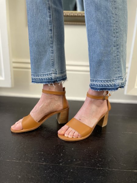 Mother Denim Hustler Ankle Undone Hem Jean - On My Feet