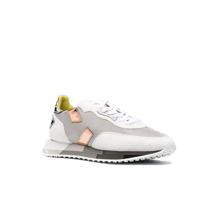 Ghoud Rush Multi Low Sneakers - White/Silver