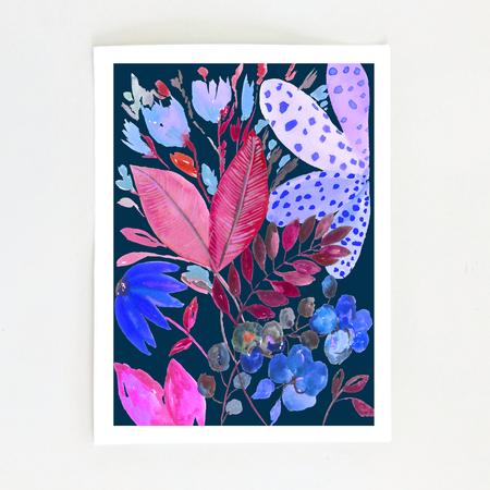 Fernanda Martinez Enchanted Garden Art Print