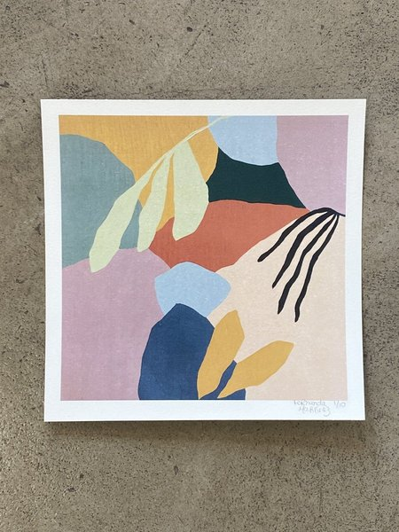 Fernanda Martinez Reef Collection #1 Limited Edition Art Print