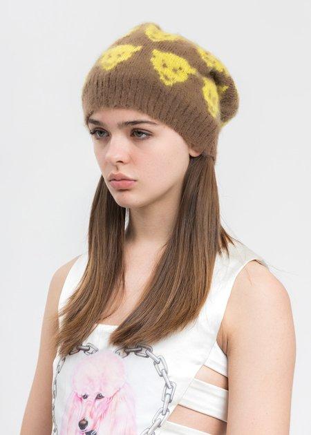Ashley Williams Devils Knit Beanie - Yellow